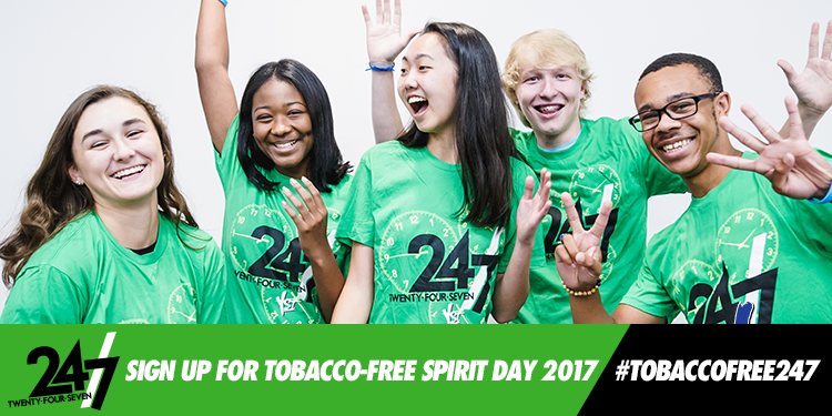 Celebrate Tobacco-Free Spirit Day 2017!